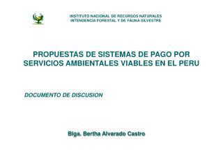 Blga. Bertha Alvarado Castro