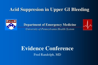 GI Bleeding: