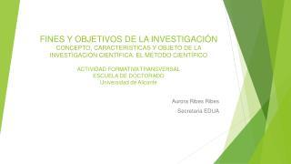 Aurora Ribes  Ribes Secretaria EDUA