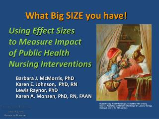 What Big SIZE you have! Using Effect Sizes  to Measure Impact  of Public Health