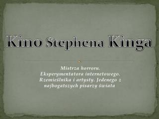 Kino  Stephena  Kinga