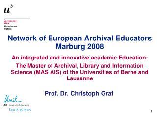 Prof. Dr. Christoph Graf
