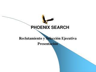Reclutamiento y Selección Ejecutiva Presentación