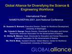 Global Alliance for Diversifying the Science  Engineering Workforce