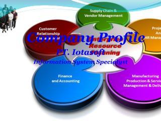 Company Profile PT.  Iotasoft Information System  Specialyst