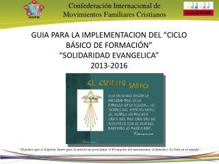 Confederación Internacional de Movimientos Familiares Cristianos