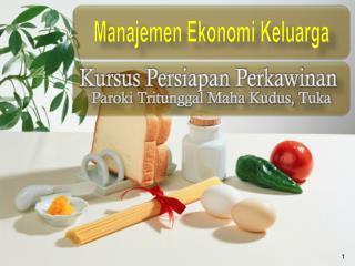 Manajemen Ekonomi Keluarga