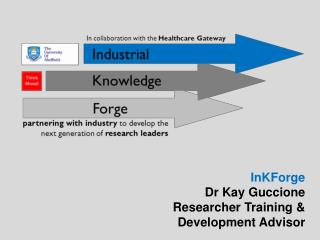 InKForge Dr Kay Guccione Researcher Training &  Development Advisor