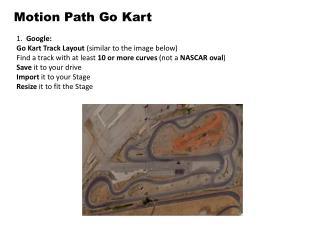 Motion Path Go Kart