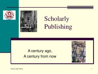 Scholarly Publishing