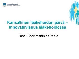 Kansallinen lääkehoidon päivä – Innovatiivisuus lääkehoidossa