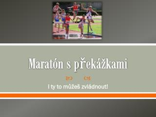 Maratón s překážkami