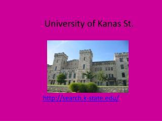 University of Kanas St.