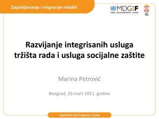 Ra zvijanje integrisanih usluga tržišta rada i usluga socijalne zaštite