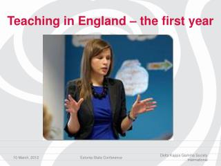 Teaching in England – the first year