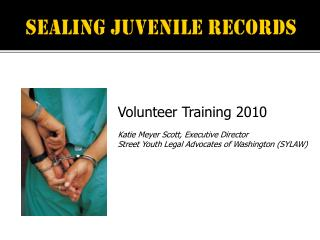 Sealing juvenile records