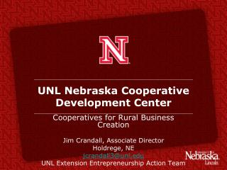 UNL Nebraska Cooperative Development Center