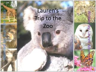Lauren's Trip to the Zoo