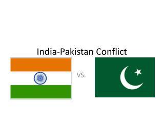 India-Pakistan Conflict