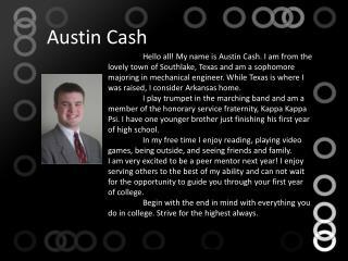 Austin Cash
