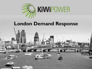 London Demand Response