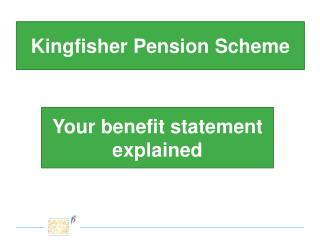 Kingfisher Pension Scheme
