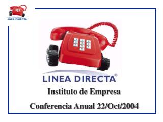 Instituto de Empresa Conferencia Anual 22/Oct/2004