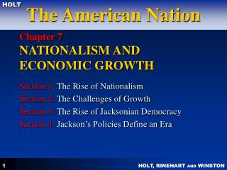 Chapter 7  NATIONALISM AND ECONOMIC GROWTH