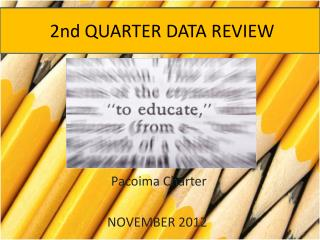 2nd QUARTER  DATA REVIEW