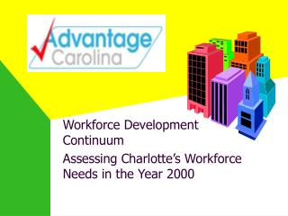 Workforce Development Continuum Assessing Charlotte's Workforce Needs in the Year 2000