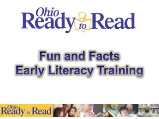 Fun and Facts Early Literacy Training