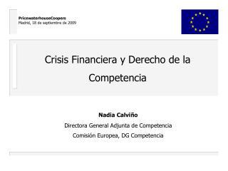 Crisis Financiera y Derecho de la Competencia