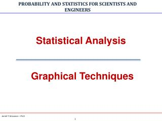 Statistical Analysis   Graphical Techniques