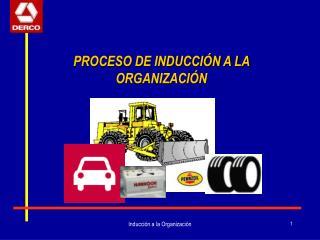 PROCESO DE INDUCCIÓN A LA ORGANIZACIÓN