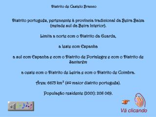 Distrito de Castelo Branco