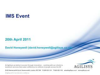 IMS Event