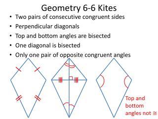 Geometry 6-6 Kites