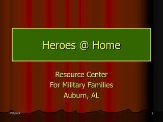 Heroes @ Home