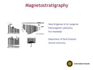 Magnetostratigraphy