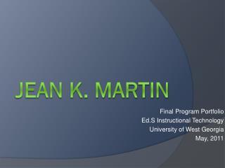 Jean K. martin