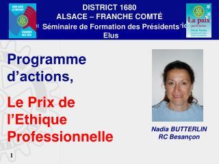 Séminaire de Formation des Présidents Elus BELFORT  - 9 mars 2013