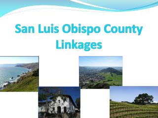 San Luis Obispo County Linkages