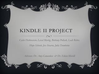 Kindle II Project
