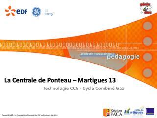 La Centrale de  Ponteau  – Martigues 13