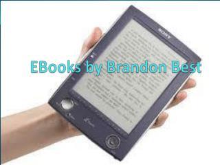 EBooks by Brandon Best