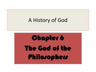 A History of God