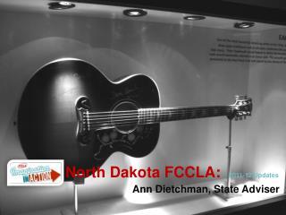 North Dakota FCCLA:   2011-12 Updates