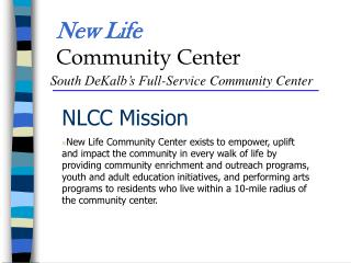 New Life Community Center