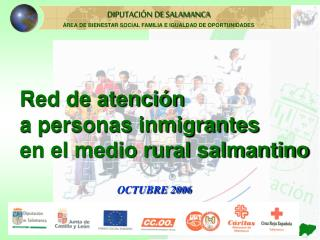 Red de atención a personas inmigrantes  en el medio rural salmantino