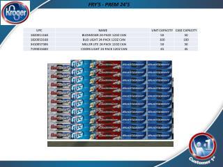 FRY'S  - PREM 24'S